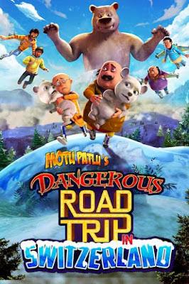 Motu Patlu's Dangerous Road Trip in Switzerland (2021) Hindi 720p HDRip x264 | 720p HEVC 300Mb | 200Mb