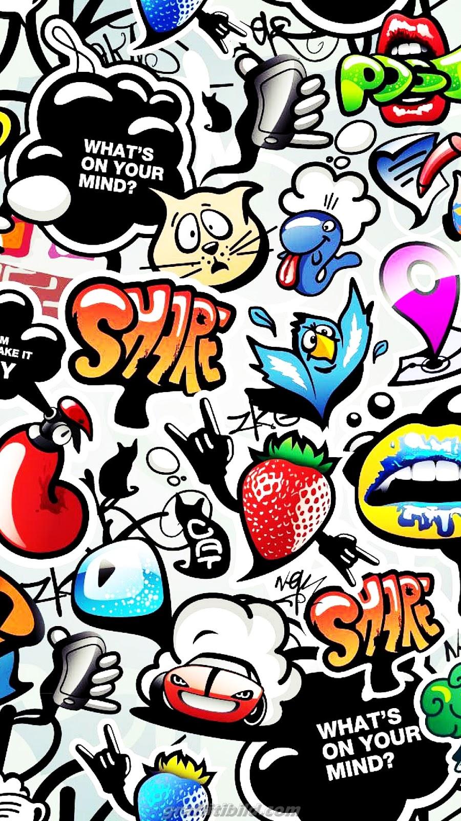 graffiti wallpapers android hd, graffiti hintergrundbilder handy