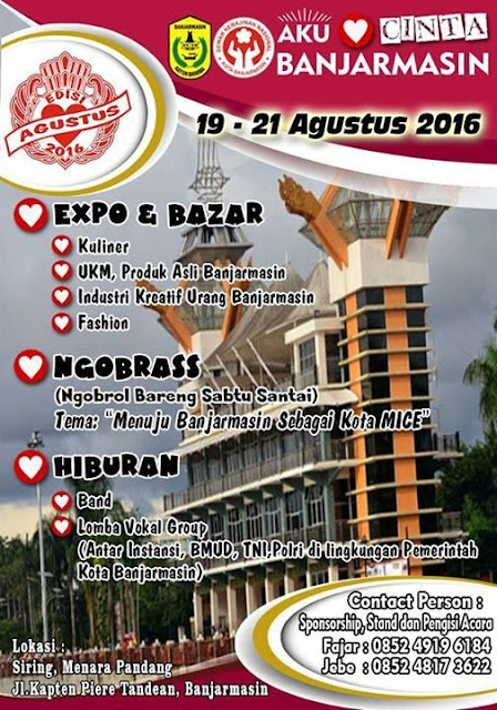 Expo, Bazaar Banjarmasin 2016
