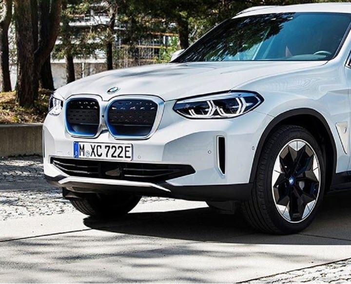 BMW iX3 lộ diện - SUV chạy điện cỡ nhỏ sẽ ra mắt cuối năm