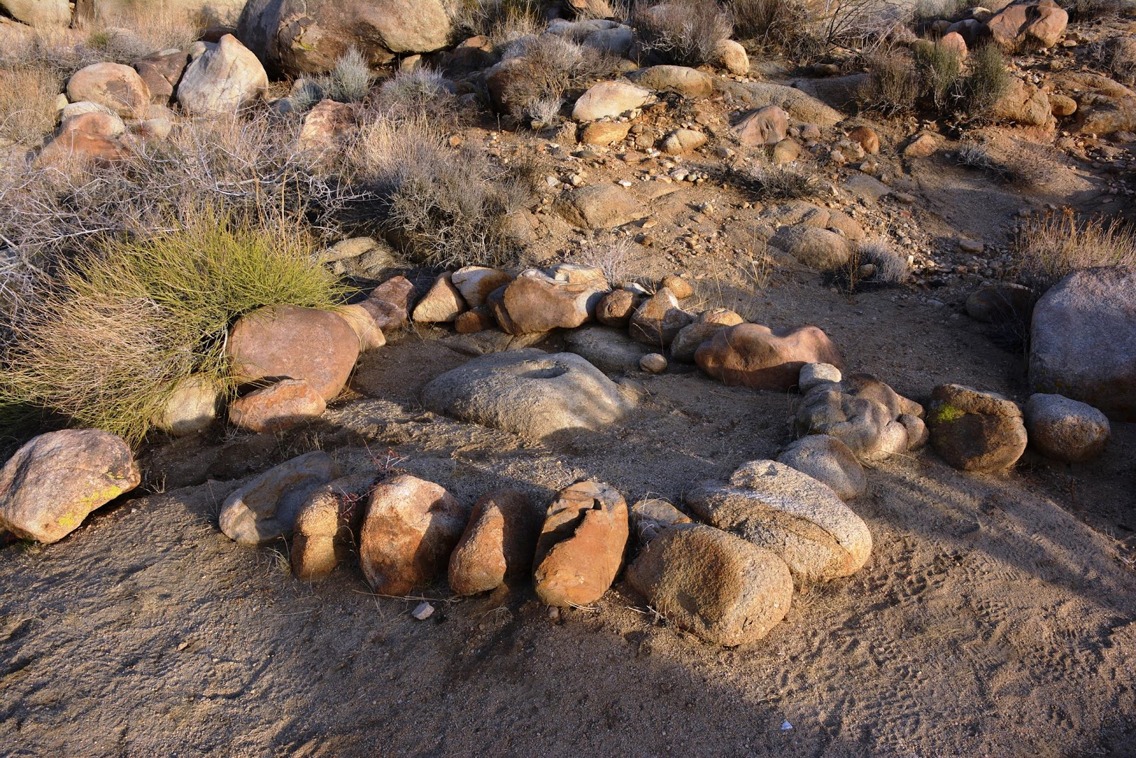 Patrick Tillett Coyote Hole Rock Art 1 The GOOD Joshua Tree