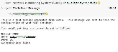 Cara Membuat Notifikasi Email Ketika Host Down di Cacti