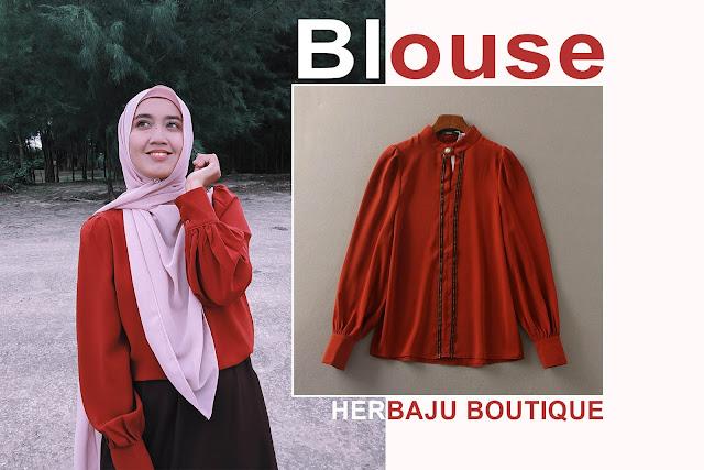 Beli Baju Blouse Dekat Herbaju Boutique