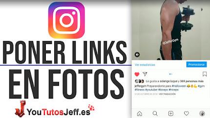 Poner Enlaces en Fotos de Instagram - Trucos de Instagram