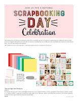 National Scrapbooking Day Celebration flyer page 1
