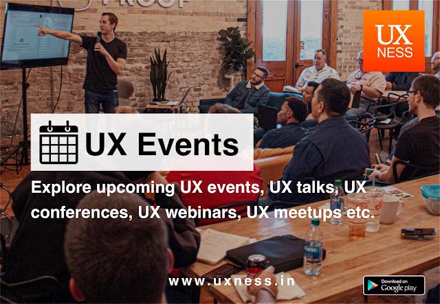 Upcoming UX Events UX conferences UX talks