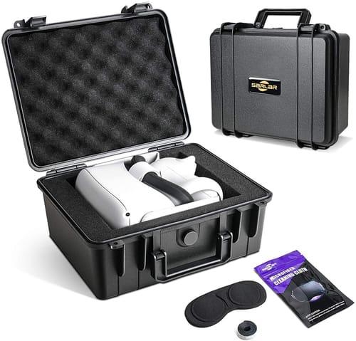 SARLAR Oculus Quest 2 Mini Hard Carrying Case