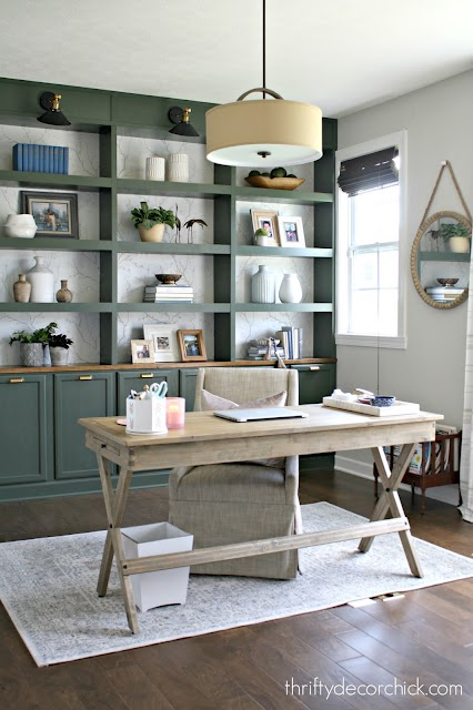 how to build wall of bookcases