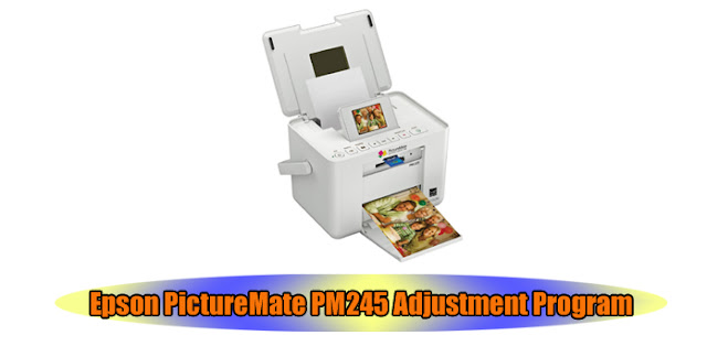 Epson PictureMate PM245 Printer Adjustment Program