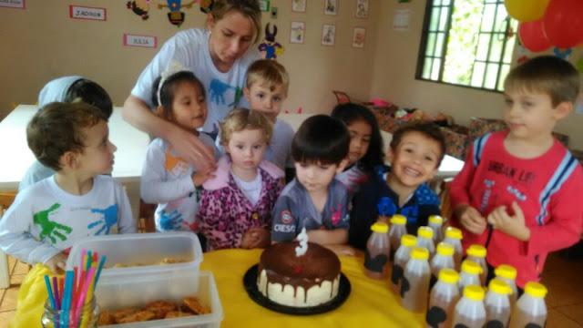 DIY - A festa de níver organizada pelo papai!