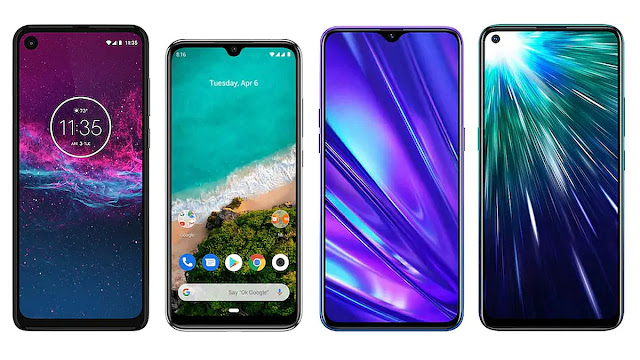 Motorola One Action vs Mi A3 vs Realme 5 Pro vs Vivo Z1 Pro: Price in India, Specifications Compared