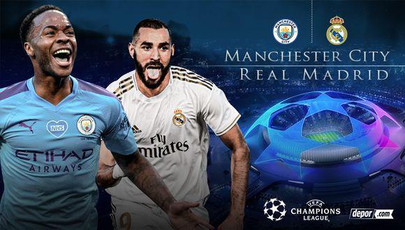 Real Madrid vs Manchester City chocan EN DIRECTO por Champions League  Rodrygo y Hazard titulares