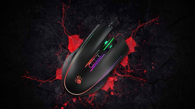 Bloody Q81 NEON X' GLIDE GAMING MOUSE - Gaming Mouse 2021