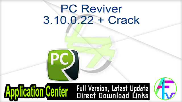 PC Reviver 3.10.0.22 + Crack