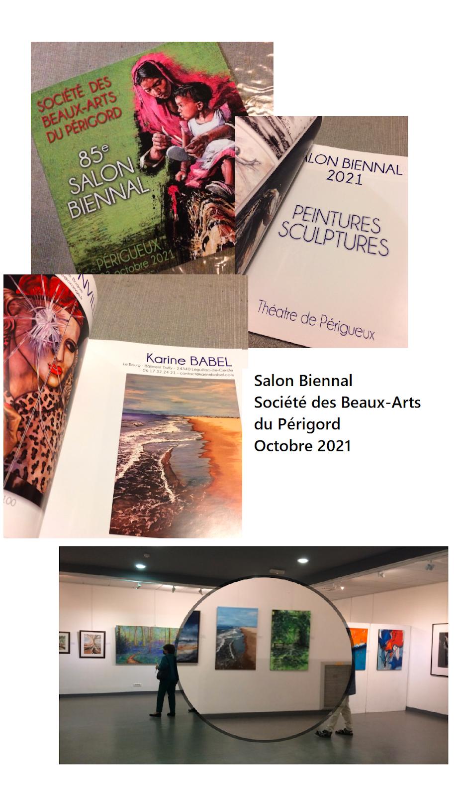 Salon biennal de la Société des Beaux-Arts du Périgord 2021