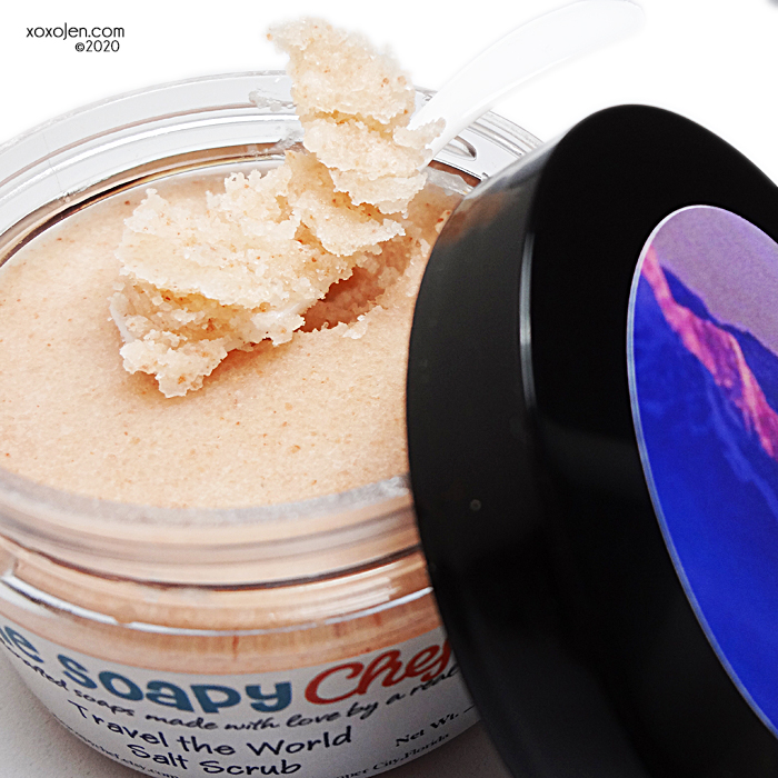 xoxoJen's swatch of The Soapy Chef Travel the World Himalayan salt scrub