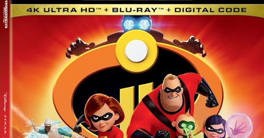 Incredibles 2 Coming Soon Digitally and on DVD!