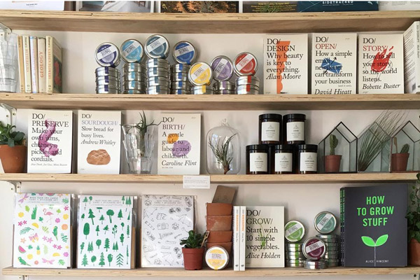 Selection of Curated Makers Products in Alfie's Studio Shop