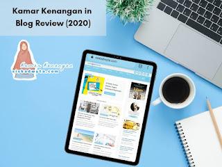 Kamar kenangan in blog review 2020
