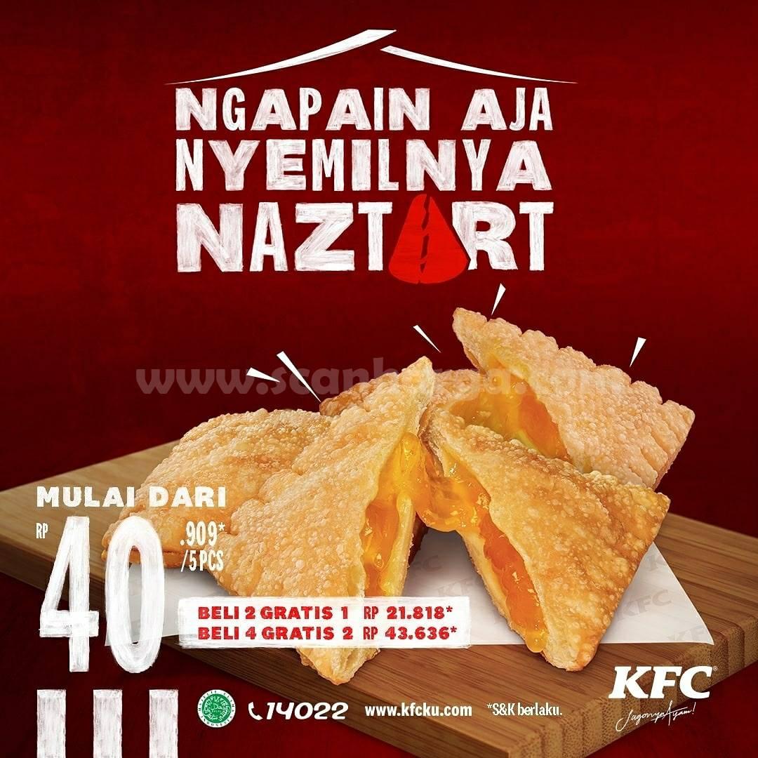 Promo KFC Naztart - Harga 5 Pcs mulai Rp. 40.909