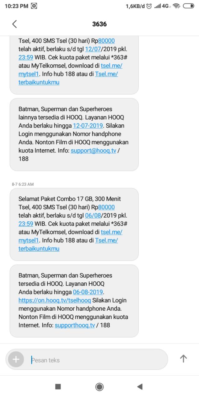 Cara Beli Paket Combo 17GB Telkomsel Murah Terbaru 2019