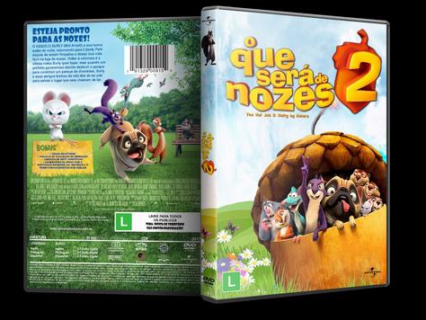 Capa DVD O Que Será de Nozes 2 [Exclusiva]