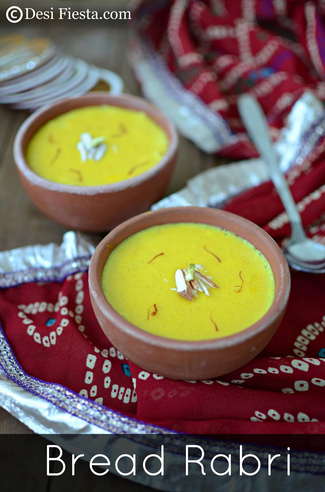 Bread Rabri Recipe | Karva Chauth Recipe ~ Guest Post for