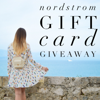 Enter the $200 Nordstrom Insta Giveaway. Ends 5/8