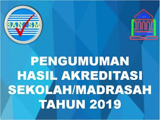 Hasil akreditasi 2019