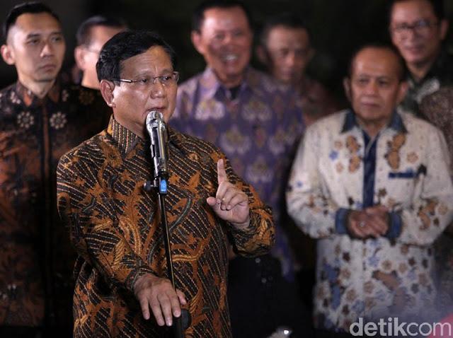 Gerindra: Kubu Sebelah yang Lobi Prabowo Tak Pidato Keras-keras