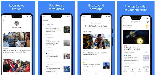أفضل تطبيق جوجل Google لمتابعة آخر الأخبار حول العالم