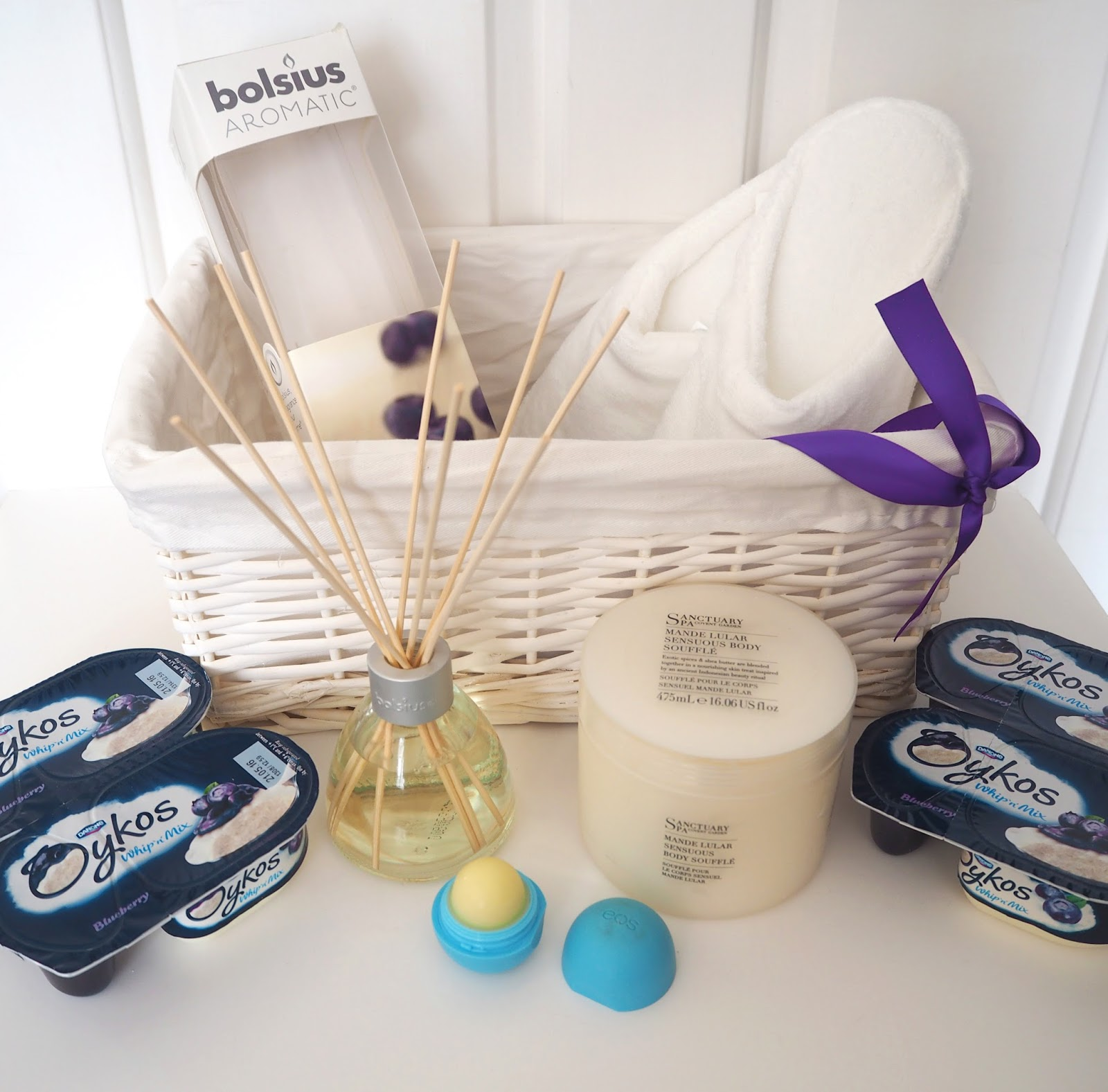 Blueberry Spa Products Courtesy of Oykos