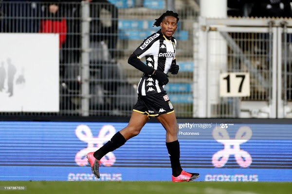 Oficial: Sporting Charleroi, renueva Joris Kayembe hasta 2023