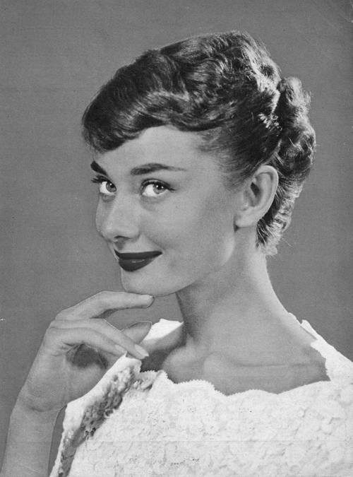 Audrey Hepburn Was Also Known For Her Short Cut