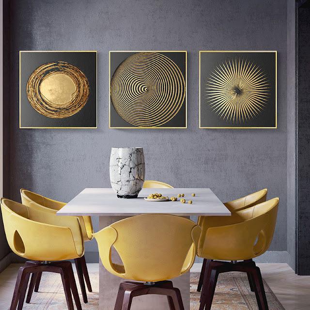 3 wall decor designs for hall