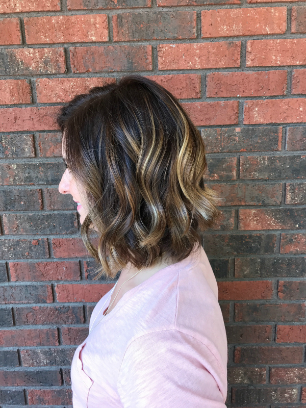 hair products, beauty products, makeup, hair style, angled bob, balayage, short hair styles