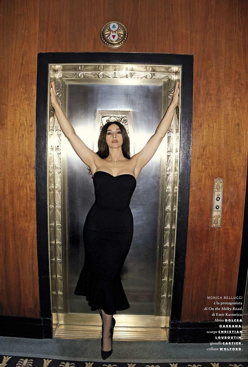 GQ Italia February 2017 : Monica Bellucci by Terry Richardson