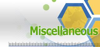 SSC CGL 2017   MISCELLANEOUS QUIZ   15.04.2017