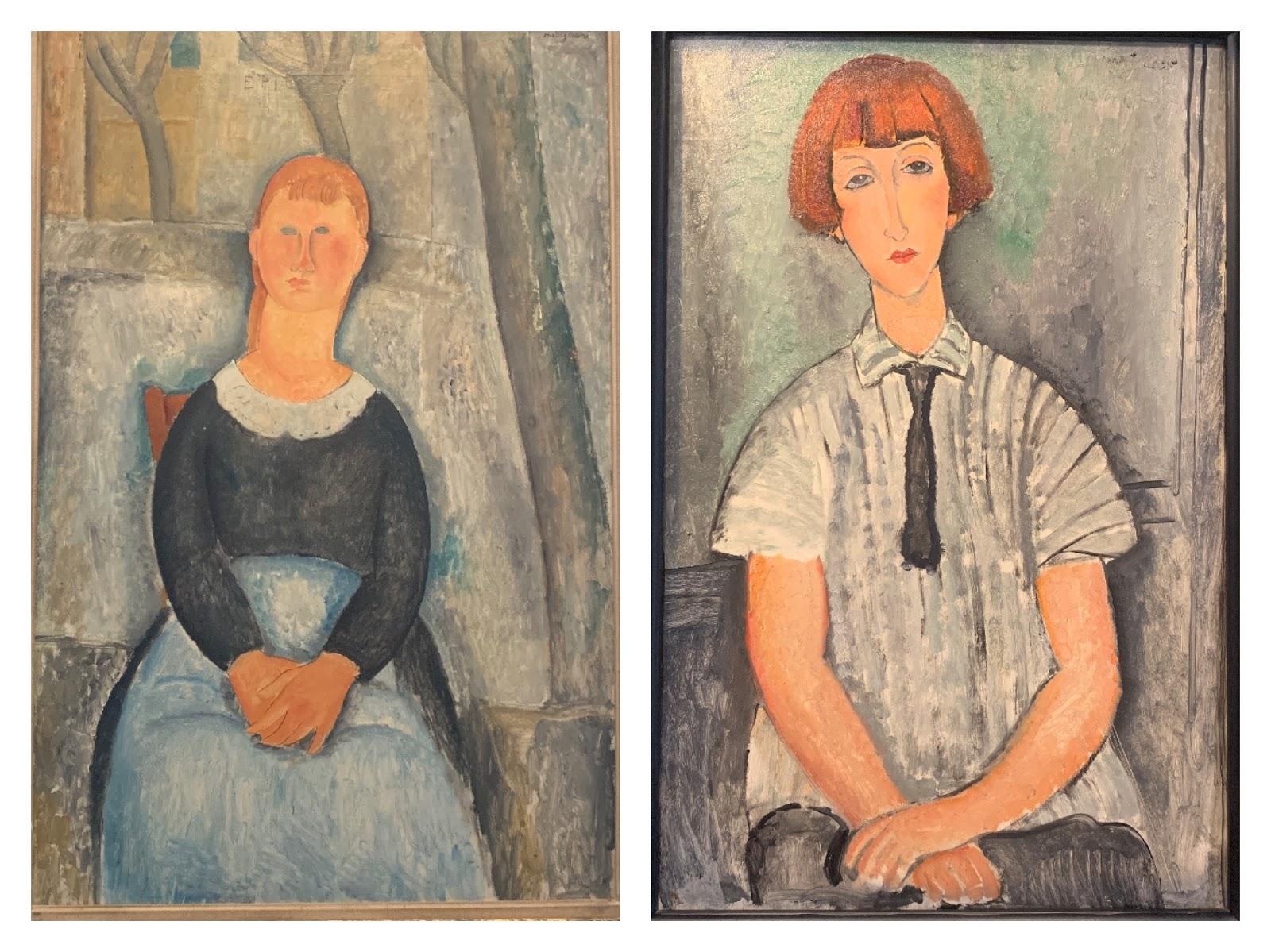 Amedeo Modigliani, szkoła paryska