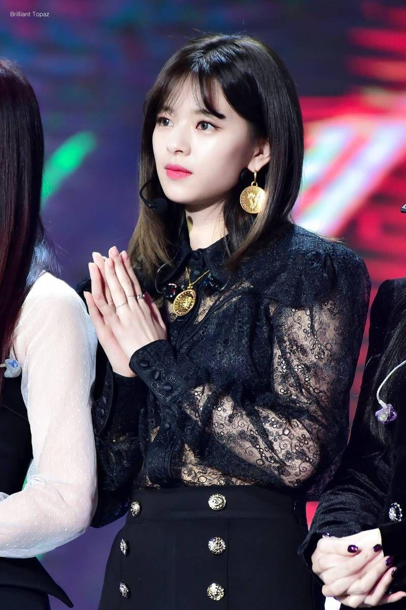 Model Gaya Rambut Jeongyeon TWICE Terbaru 2020 Pendek dan ...
