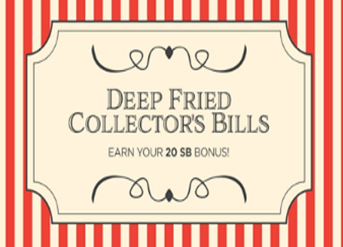 Swagbucks Deep Fried Collector's Bills