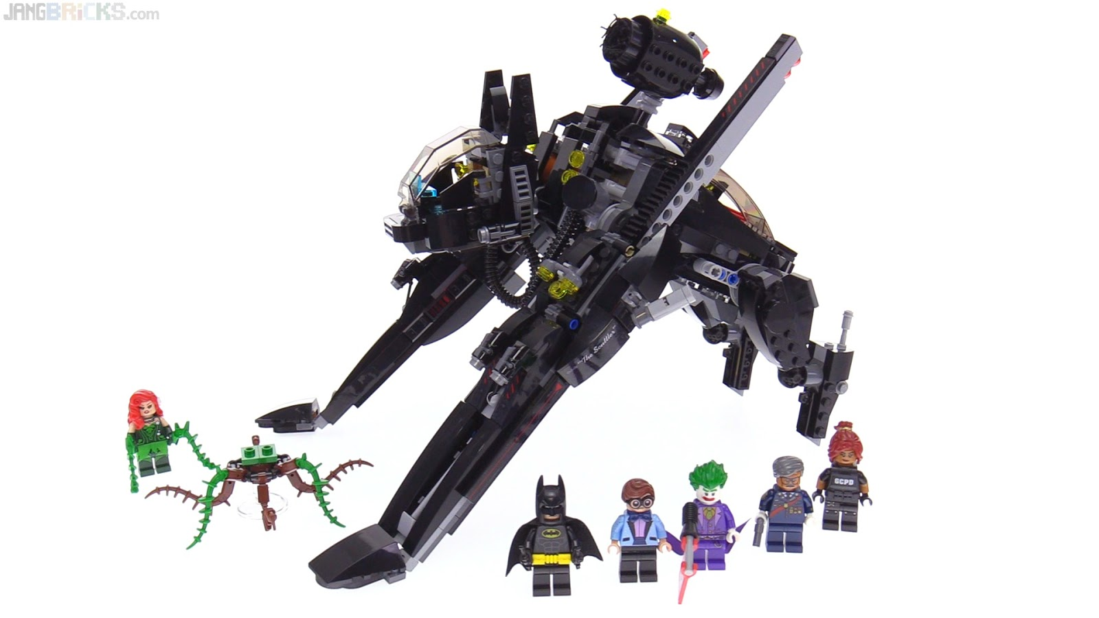 Lego Batman Movie The Scuttler Set Review 70908