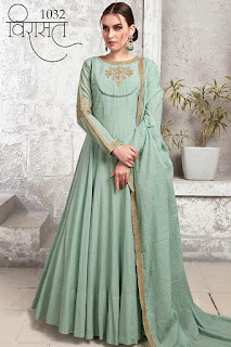 Virasat vol 8 Wedding Anarkali Stitched Gown wholesale price