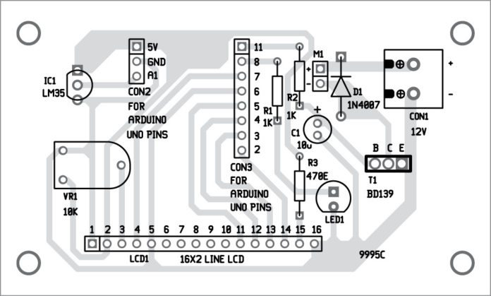 temperature based fan speed control and monitoring using