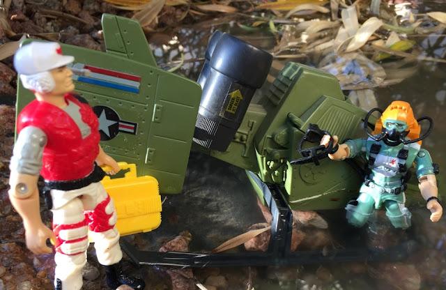 1994 Lifeline, Battle Corps, Action Pilot, 1993, Mudbuster, 1986 Wet Suit, 1984 Skyhawk
