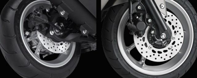 Yamaha, Yamaha Nepal, Yamaha scooter,yamaha specifications, yamaha brake, yamaha nmax brake, nmax 155 brake, abs, nmax abs