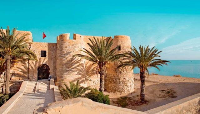قلعة جزيرة جربة تونس