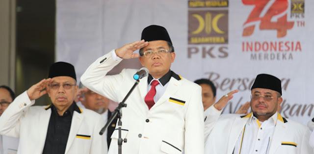Presiden PKS: Pak Jokowi Mestinya Marah Dari Dulu, Bukan Sekarang