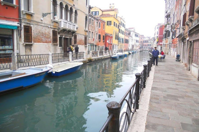 Venice in Winter: A canal in the Cannaregio neighborhood