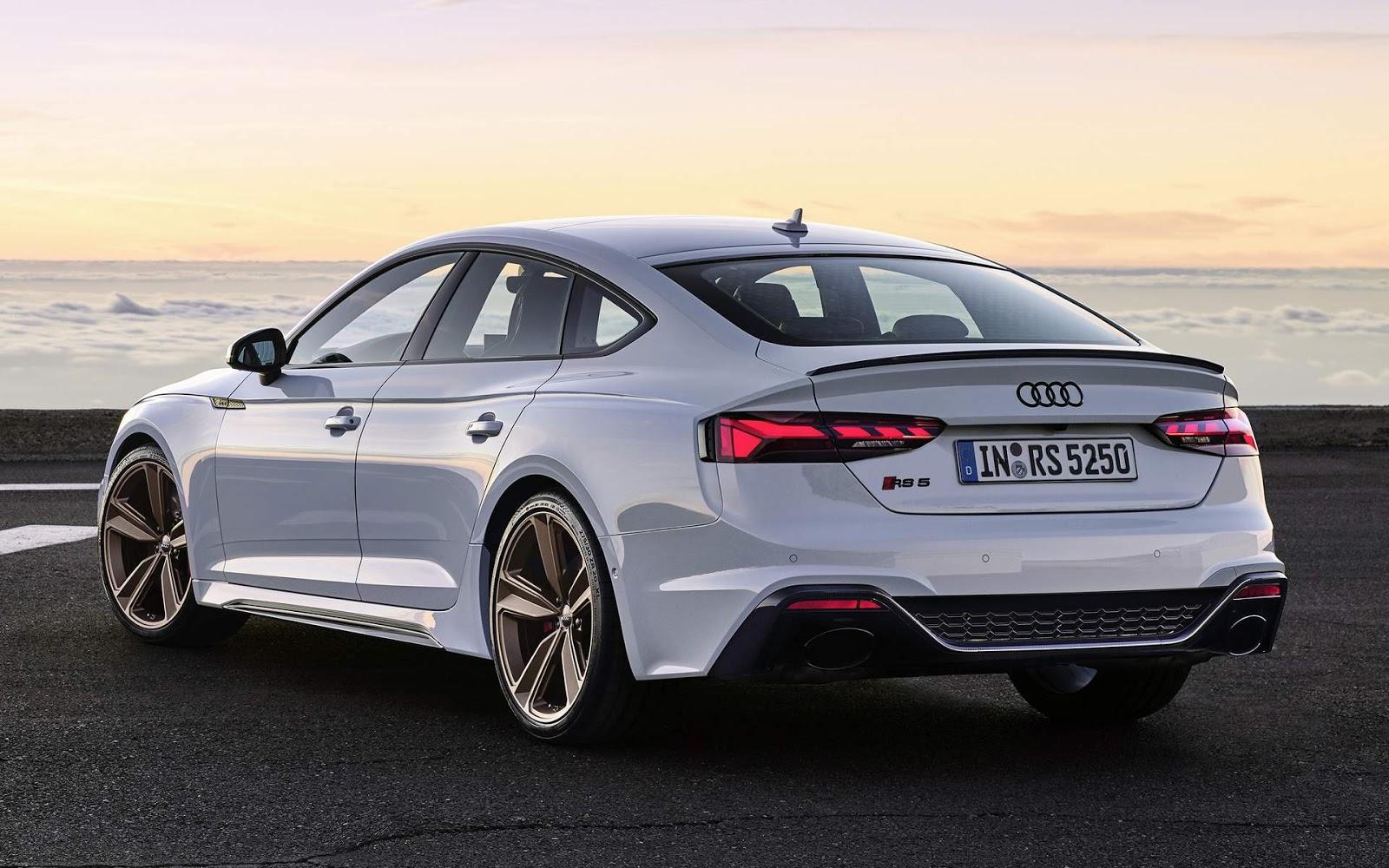 Audi RS5 2020 Cupê e Sportback ganham aperfeiçoamentos